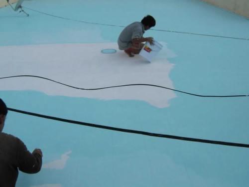 Dịch vụ thi công sơn chống thấm