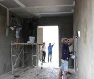 Thời gian của bột trét tường đã trộn nước là bao nhiêu lâu?