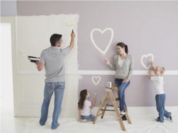 Xử lý  bề mặt tường trước khi thi công sơn