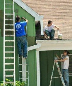sơn sửa tường cũ