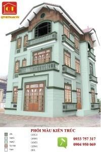 QT Việt Nam là đơn vị chuyên sơn nhà với nhiều năm kinh nghiệm trong lĩnh vực thi công sơn nhà, sơn văn phòng, nội thất, ngoại thất, thiết kế – kết cấu thi công xây dựng sửa chữa nhà cửa. Chúng tôi tự hào đem đến cho quý khách hàng một dịch vụ tốt nhất, hoàn hảo nhất cả về chất lượng công trình và chất lượng dịch vụ. Dưới đây là các công trình tiêu biểu mà QT đã thực hiện phối màu kiến trúc và thi công sơn