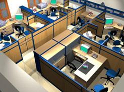 thiết kế văn phòng công ty