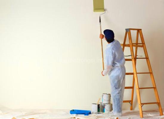Thi công sơn nhà đẹp