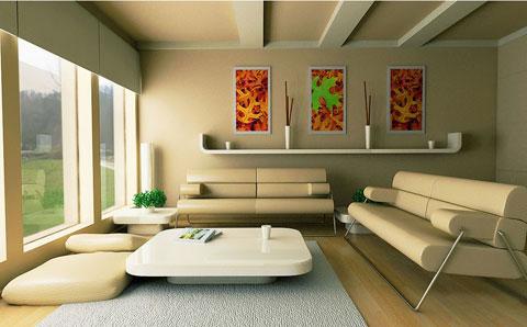 Tính thẩm mỹ trong sơn tường nhà