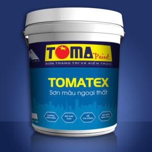 Sơn màu ngoại thất TOMATEX