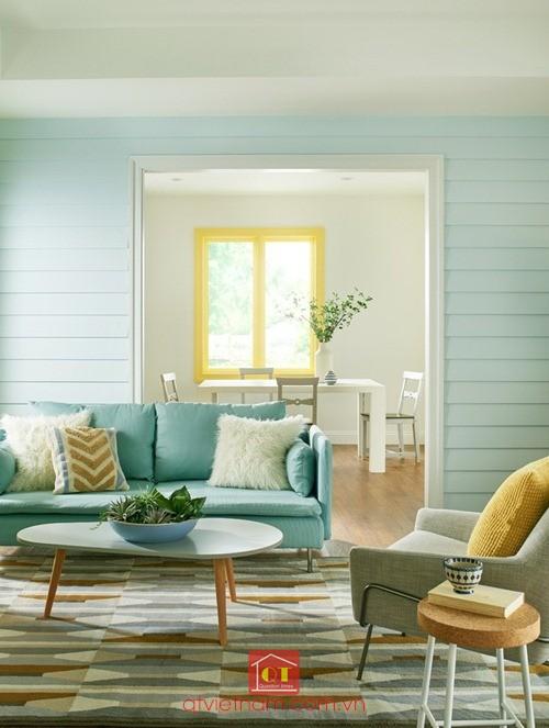 Màu xanh da trời nhạt mang đến sự tĩnh lặng trong cuộc sống của bạn