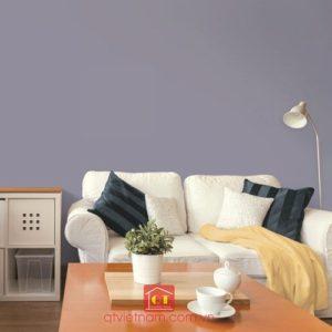 Vì tính hỏa của năm Đinh Dậu nên sơn có màu tím cũng sẽ là một lựa chọn hoàn hảo dành cho bạn